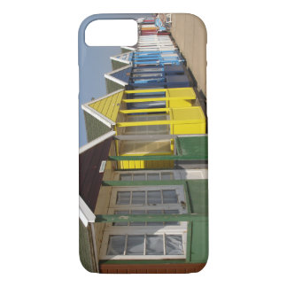 Beach huts phone case