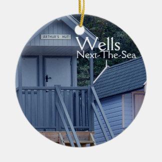 Beach Huts, Wells-next-the-Sea, Ornament