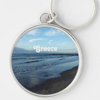 Beach in Greece Keychain