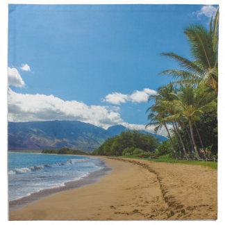 Beach in Hawaii Napkin