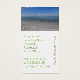 Beach in Naples Business Card