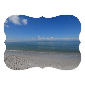 Beach in Naples Card