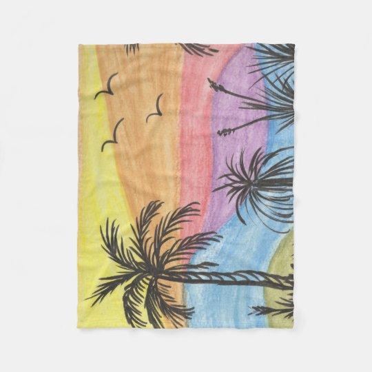 Beach Inspiration Fleece Blanket