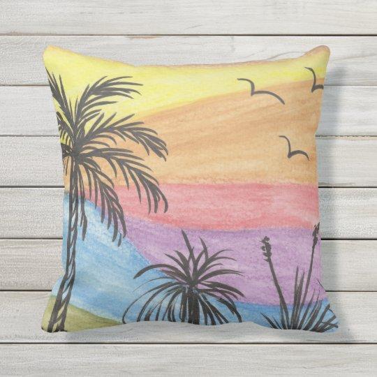 Beach Inspiration Outdoor Cushion