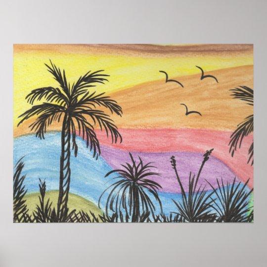 Beach Inspiration Poster