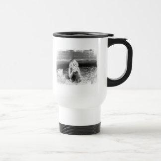Beach Insulated Coffee Mug