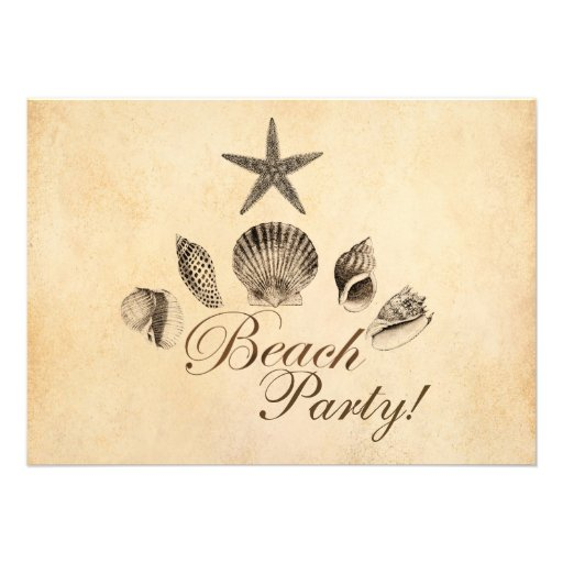 Beach Personalized Announcements