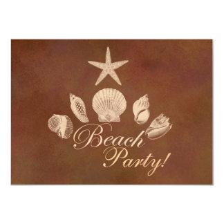 Beach 4.5x6.25 Paper Invitation Card