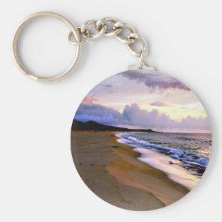 Beach Keychain Wedding Favor