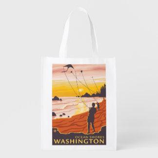 Beach & Kites - Ocean Shores, Washington