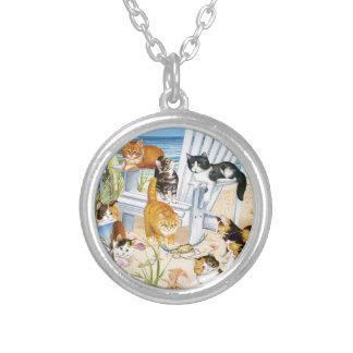 Beach Kittens Necklace