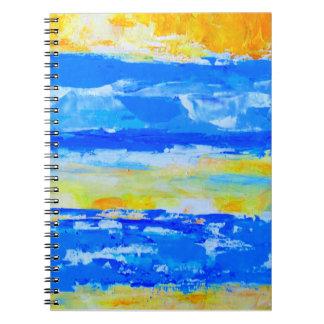 Beach Landscape Artist Designed Notebook
