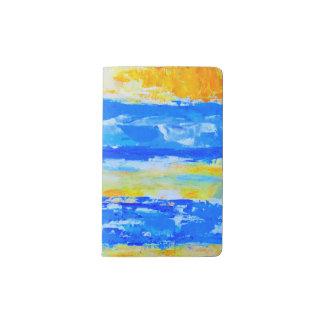 Beach Landscape Moleskin Notebook