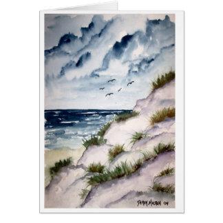 beach large card