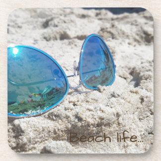 Beach life... beverage coasters