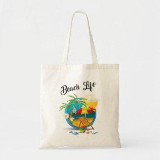 Beach Life Budget Tote