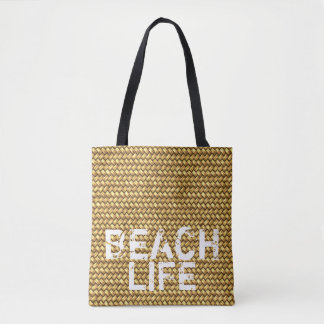 """Beach Life"" carry-all holiday bag"
