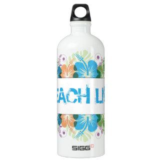Beach Life Hibiscus Pattern SIGG Traveller 1.0L Water Bottle