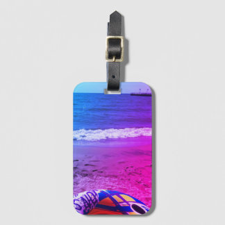 Beach Life Luggage Tag