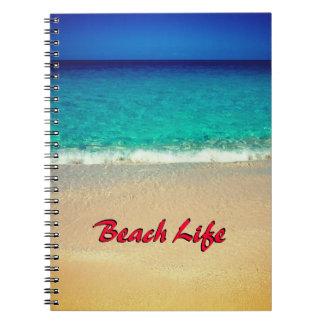 Beach Life Notebook