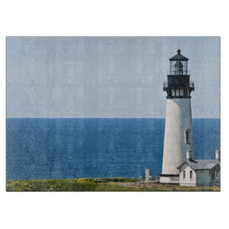 Beach Lighthouse Cutting Board