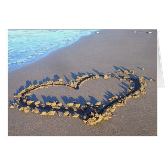 Beach Love Card