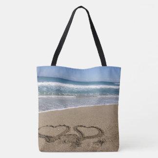 Beach Love Tote Bag