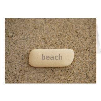 Beach Minimalist Card