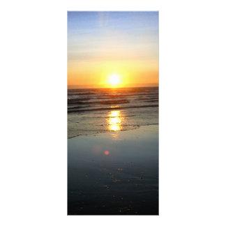 Beach Mirror Rack Cards