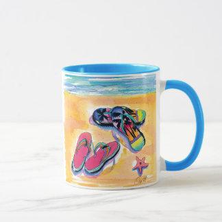Beach mug- Foot loose Mug