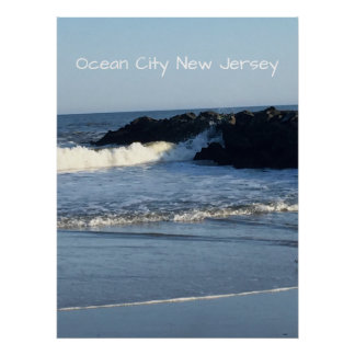 Beach Ocean City New Jersey Poster