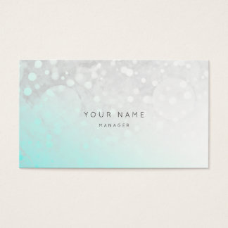 Beach Ocean Gry White Grungy Ombre White Vip Business Card