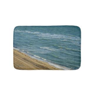 Beach Ocean Sand Blue Water Tropical Bath Mat