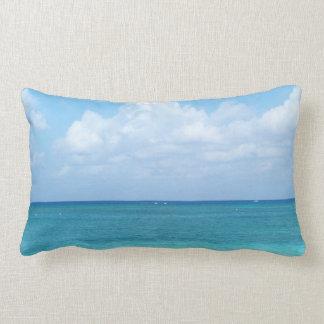 Beach ocean view throw pillow throw cushion