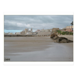 Beach of Cadiz Postcard