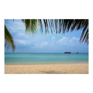 Beach of Koh Phangan Thailand Poster