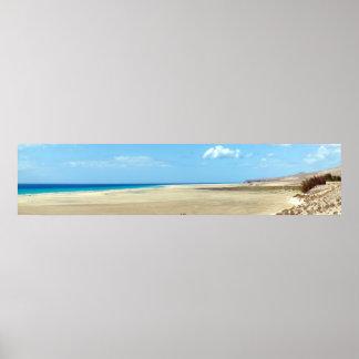 Beach of Leeward - Fuerteventura Poster