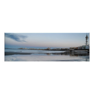Beach of Santa Maria of the Sea, Cadiz Poster