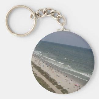 Beach of South Carolina Key Ring