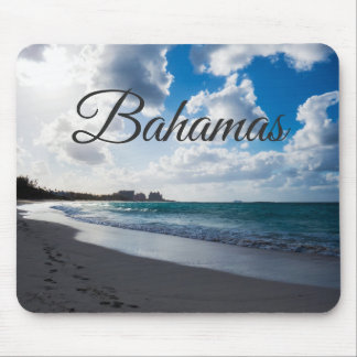 Beach Of The Bahamas Mouse Pad