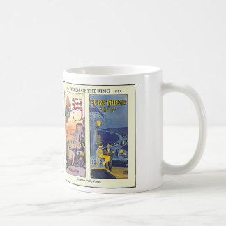 Beach of The King by Arthur Bradley Fowler Coffee Mug