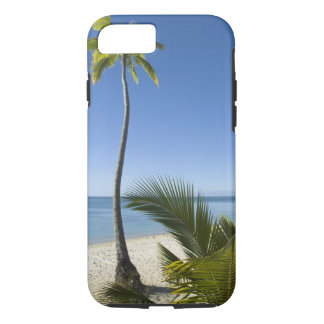 Beach on mainland Aitutaki, Cook Islands iPhone 7 Case