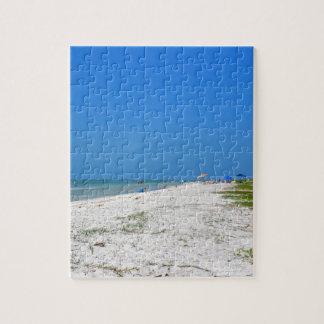 Beach on Sanibel Island Jigsaw Puzzle