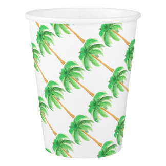 BEACH PALM PARTY PAPER CUP