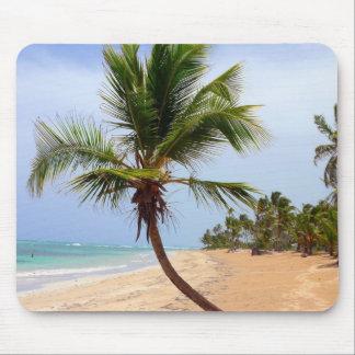 Beach Palm Trees Mouse Pad