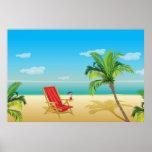 Beach paradise getaway  Poster