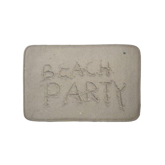 Beach Party Bath Mats