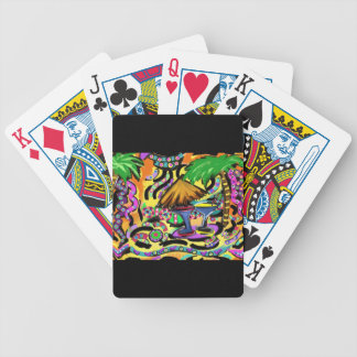 Beach Party Bicycle Playing Cards