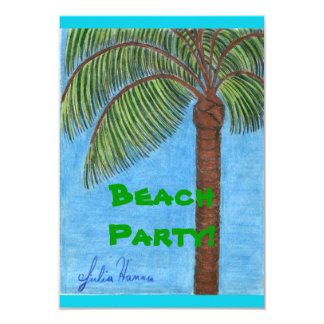 Beach Party Cards