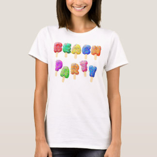 Beach Party Confetti Ice Cream Treats T-Shirt